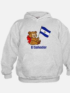 El Salvador Teddy Bear Hoodie