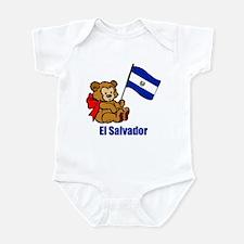 El Salvador Teddy Bear Onesie