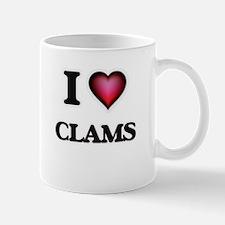 I love Clams Mugs