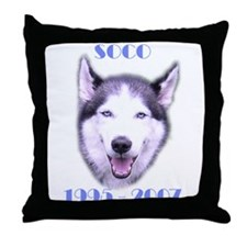 Soco Memorial for Gardner Throw Pillow