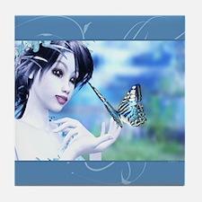Butterfly Fairy Tile Coaster