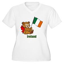 Ireland Teddy Bear T-Shirt