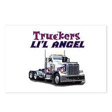Truckers Li'l Angel Postcards (Package of 8)