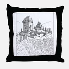 The Knights 2 Store Throw Pillow