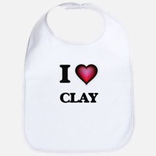 I love Clay Bib