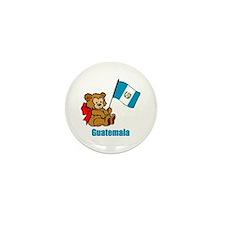 Guatemala Teddy Bear Mini Button (100 pack)
