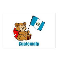 Guatemala Teddy Bear Postcards (Package of 8)