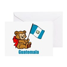 Guatemala Teddy Bear Greeting Card