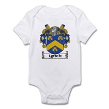 Lynch Coat of Arms Infant Creeper