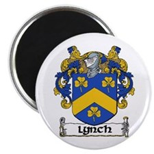 """Lynch Coat of Arms 2.25"""" Magnet (10 pack)"""