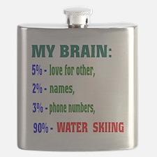 My Brain, 90 % Water Skiing . Flask