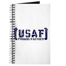 Proud USAF Fthr - Tatterd Style Journal