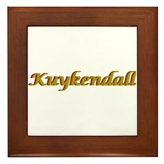 Kuykendall Framed Tile