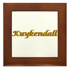 Kuykendall Framed Tile