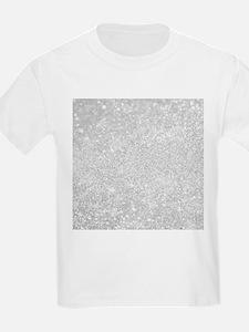 Silver Glitter Style T-Shirt