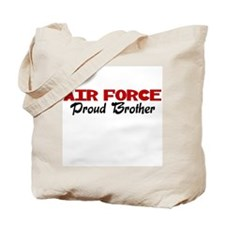 Air Force Brother (red) Tote Bag
