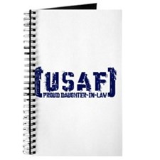 Proud USAF DhtrNlaw - Tatterd Style Journal