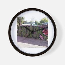 Cool Graffiti tag Wall Clock