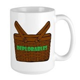 Basket of deplorables Large Mugs (15 oz)