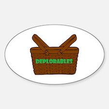 Cute Basket Decal