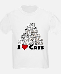 I Love CATS CUTE T-Shirt