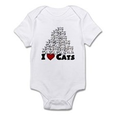 I Love CATS  CUTE Onesie