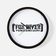 Fox River Pen - Tattered Wall Clock