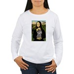 Mona / Poodle (s) Women's Long Sleeve T-Shirt