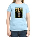 Mona / Poodle (s) Women's Light T-Shirt