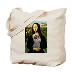 Mona / Poodle (s) Tote Bag