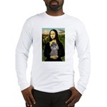 Mona / Poodle (s) Long Sleeve T-Shirt