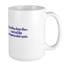 Serenity Slogan (clouds) Coffee Mug
