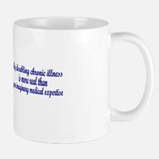 Serenity Slogan (clouds) Mug