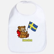 Sweden Teddy Bear Bib