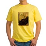 Whistler's / Poodle(s) Yellow T-Shirt