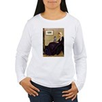 Whistler's / Poodle(s) Women's Long Sleeve T-Shirt