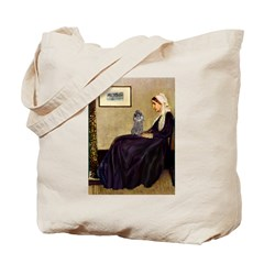 Whistler's / Poodle(s) Tote Bag