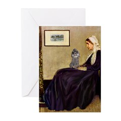 Whistler's / Poodle(s) Greeting Cards (Pk of 10)