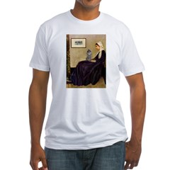 Whistler's / Poodle(s) Fitted T-Shirt