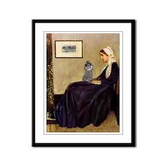 Whistler's / Poodle(s) Framed Panel Print