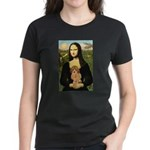 Mona / Poodle (a) Women's Dark T-Shirt