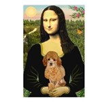Mona / Poodle (a) Postcards (Package of 8)
