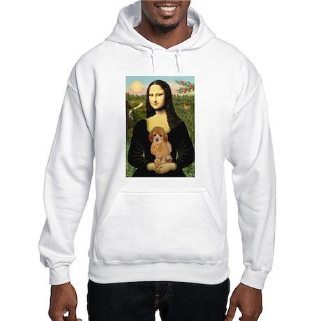 Mona / Poodle (a) Hooded Sweatshirt
