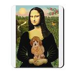 Mona / Poodle (a) Mousepad