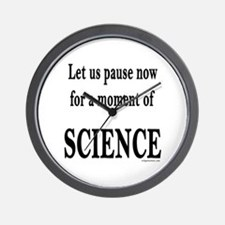 Funny Science geek Wall Clock