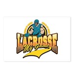 Lacrosse My Game Postcards (Package of 8)