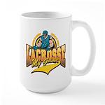 Lacrosse My Game Large Mug