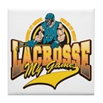 Lacrosse My Game Tile Coaster