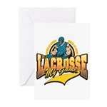 Lacrosse My Game Greeting Cards (Pk of 20)