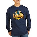 Lacrosse My Game Long Sleeve Dark T-Shirt